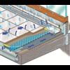 ARDEX Dräneringssystem Watec® Drain KP för balkonger, terrasser, altaner