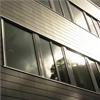 Marmoroc Brick fasadsystem, svart