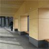 Marmoroc Composite fasadskiva, Resecentrum Örnsköldsvik, väggar och undertag
