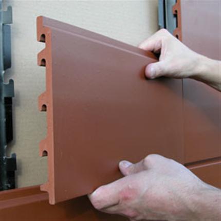Marmoroc Brick skärmtegel