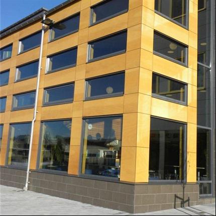 Marmoroc Composite fasadskiva, Skola, Kungsbacka
