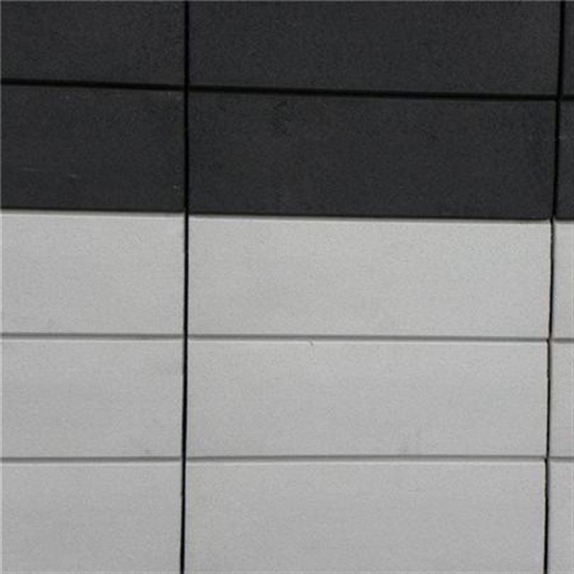 Marmoroc Nordic fasadsystem, Slät yta med linjerade vertikalfogar