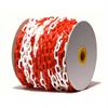 Plastkedja Plastkätting, vit/röd