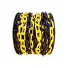 Plastkedja Plastkätting, svart/gul