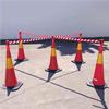 Avspärrningsband för vägkon