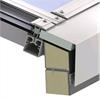 Scanlight Glastaksystem på stålplåtsarg