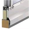 Scanlight Glastaksystem på vertikal träsarg