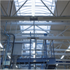 Scanlight Båglanterniner i postterminalen i Rosersberg,