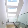 Passivhuscertifierat takfönster, ljudreducerande glas, mycket dagsljus