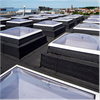 Scanlight F100 takljuskupoler på tak