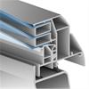 Scanlight F100 takljuskupol, konstruktion