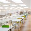 Scanlight F100 takljuskupoler i bibliotek