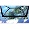 Scanlights glaspyramid, öppningsbart