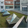 Scanlight Glaspyramider, Nacka Stadshus