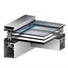 Scanlight Glastaksystem, profilsnitt 3-glas