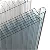Scanlight polykarbonatskivor 540 för vertikal placering/dagljusfasad