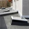 Takfönster med plastram, tät, isolerat, ljudreducerat glas