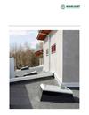 Scanlight takfönster med plastram