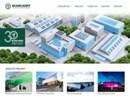 Scanlight fasadsystem på webbplats