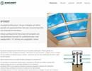 Scanlight profilsystem av trä på webbplats