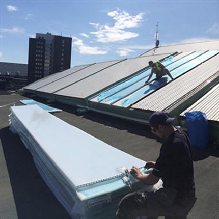 Scanlight Renovering av dagsljusinsläpp
