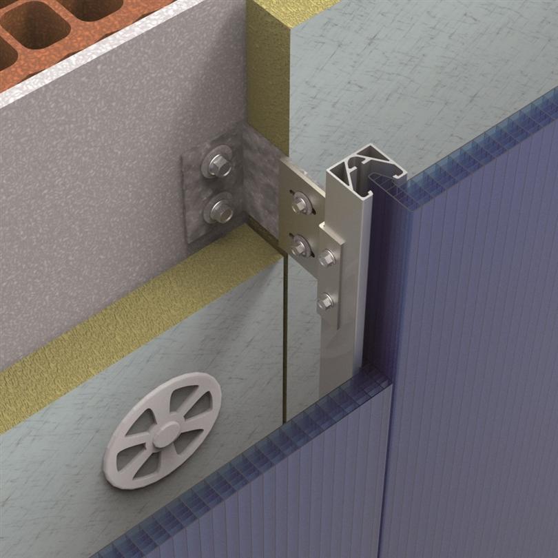 Scanlight Distans- och svärdprofil 4260VT för ventilerad beklädnad