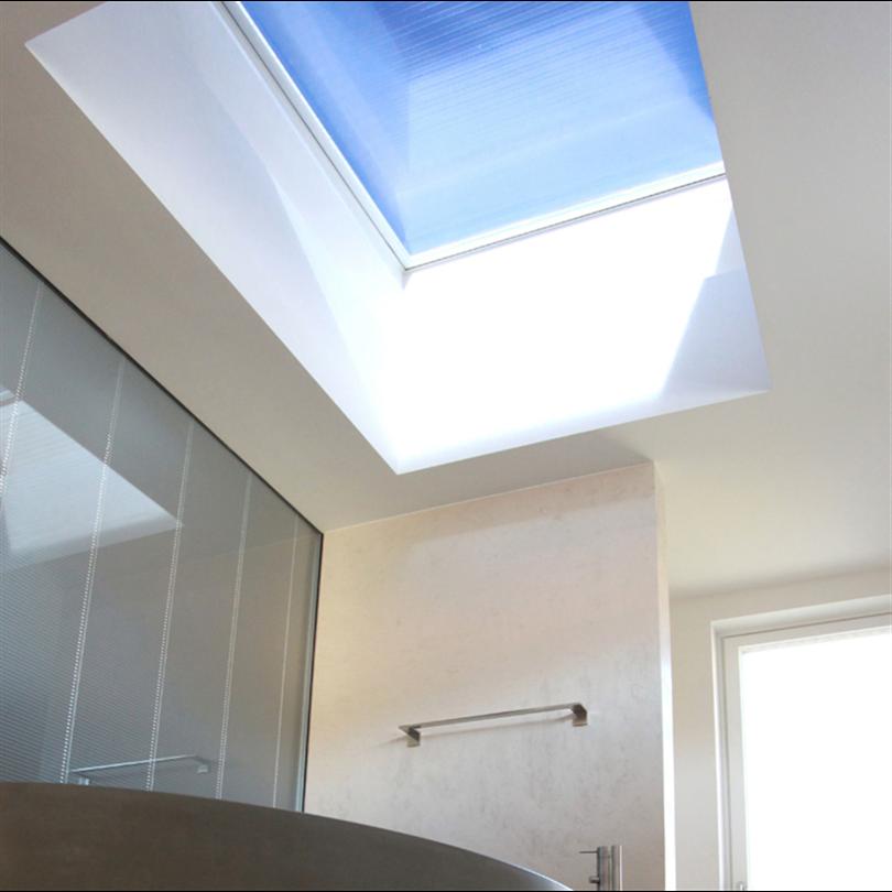 Ljudreducerande takfönster, passivhuscertiferade takfönster, ljusinsläppande fönster