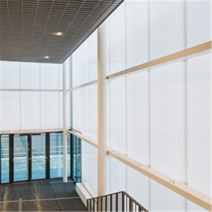Scanlight Fasadsystem 540, dagljusfasad