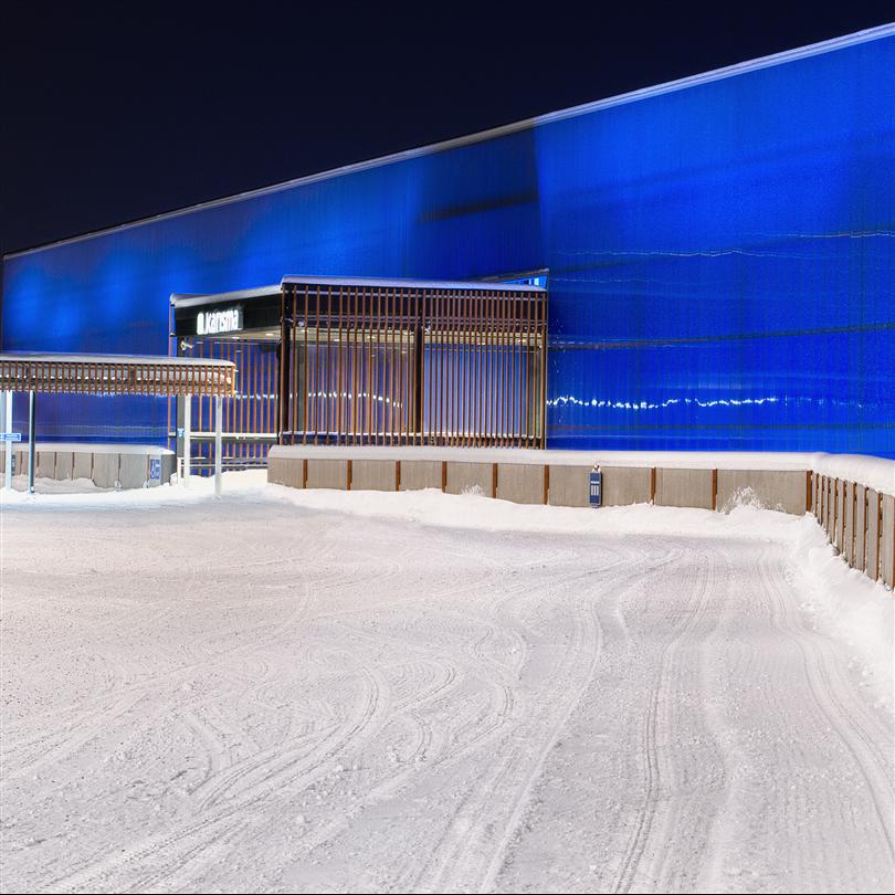 System 620, köpcenter Karisma, Lahti, Finland
