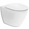 Ifö WC-stol Spira Art 6245, Rimfree