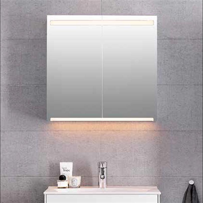 Ifö Option spegelskåp LED Middle