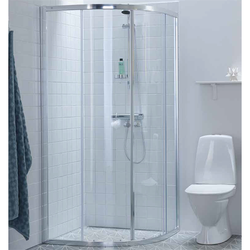 Ifö Silver duschväggar