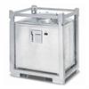 PWS ASF 800oU behållare utan bottenventil för flytande farligt avfall