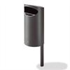 PWS Papperskorg Santolino, stål, 60 liter
