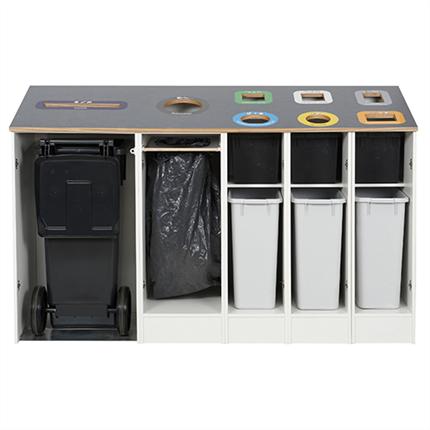 PWS Möbler för källsortering