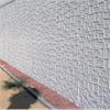 Vit standardmatris, för dekorativa betongfasader, fyrkantigt mönster