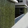Grön standardmatriser, för dekorativa betongfasader, växt mönster