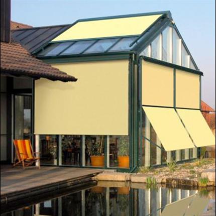Solflex Fasadmarkis gul