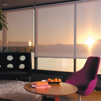 Solflex solreflekterande gardiner
