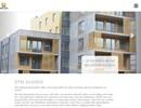 Öppna balkonger på webbplats