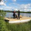 Rostfria VA-system pontonbrygga, arbetsflotte