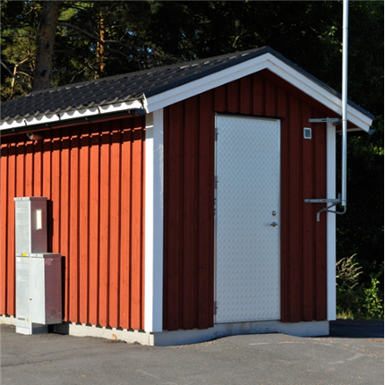 Rostfria VA-system pumpstationer