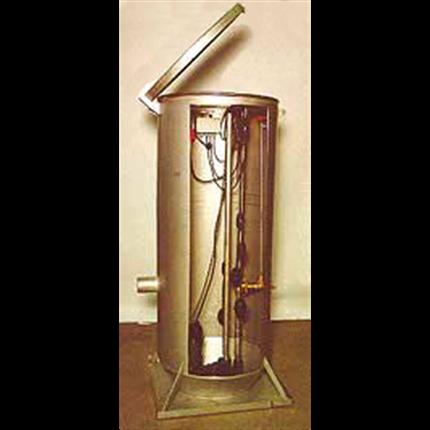 Rostfria VA-system villapumpstation
