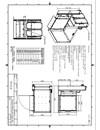 Måttskiss, MPR Strategos III rullstolshiss med sidokorg
