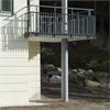 SCF pelare och balkongelement