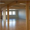 Lindborg Industrihallar Danslokal, limträstomme