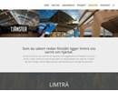 Lindborg & Söner limträ på webbplats