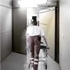 Gilgen FD 20 slagdörrsautomatik på sjukhus