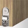 Automatisk tätningströskel för skjutdörr, ljudreducerande, ersättning av golvtröskel