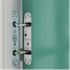 Göthes Powermatic R100, dold dörrstängare i dörr